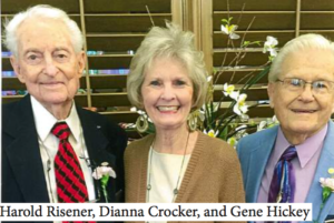 Harold Risener, Dianna Crocker, and Gene Hickey
